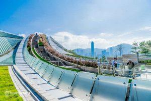 【西九高鐵站天空走廊】秘景天梯值得去嗎?(附綠化空間介紹)