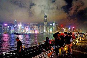 【尖沙咀海旁】欣賞維港夜景最佳位置,觀景台,街頭表演,雪糕車