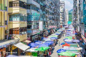 《旺角主題街介紹》香港夜市女人街和花園街,金魚雀仔花卉也有主題街,波鞋街又真的便宜嗎?