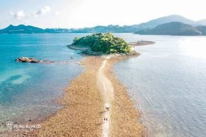 【西貢連島沙洲】西貢出海第一熱門景點若隱若現的奇觀